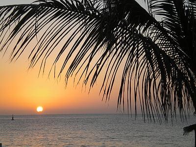 platja, Mèxic, posta de sol
