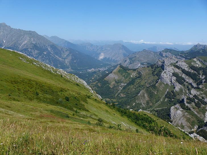 Entracque, Alpy Nadmorskie, alpejska, góry, Piemont, Linda marritime nature park, programu Outlook