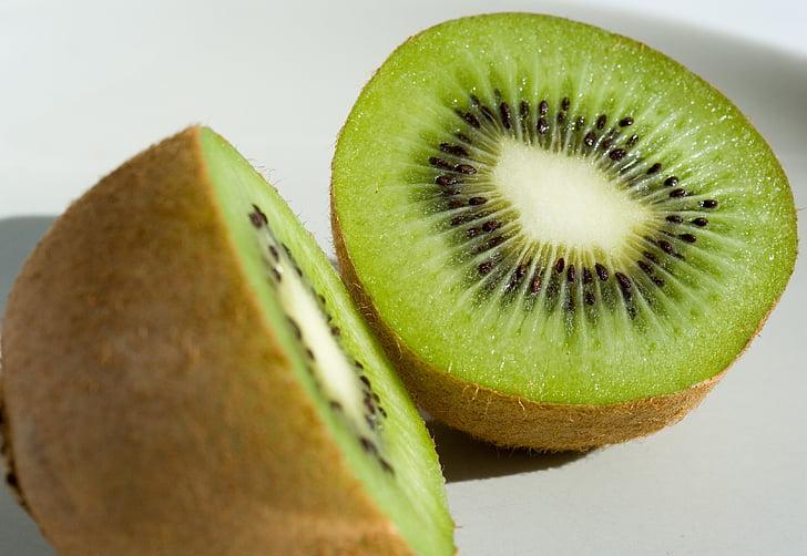 Kiwi, frugt, nyttige, spise, saftige, sundhed, mad