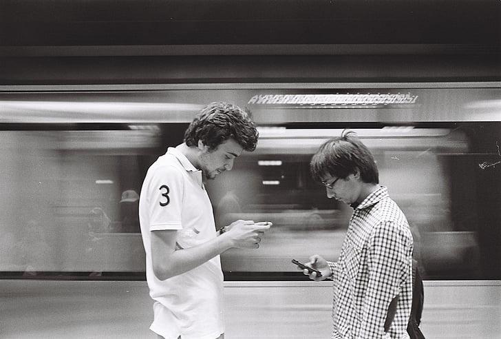 subway, marmaray, istanbul, station, underground, phone, individual