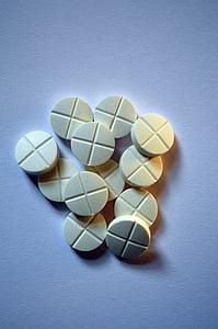 drogues, segell, comprimit, malaltia, pacient, tractar, l'atenció