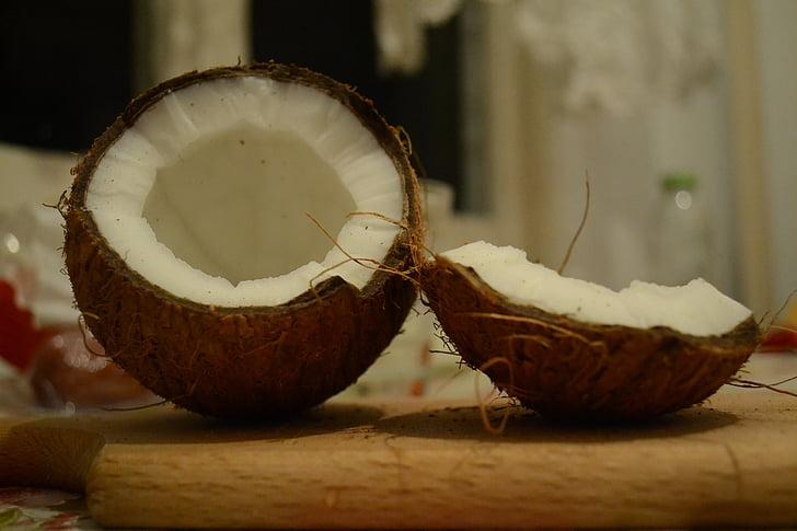 kokos, oreh, eksotične