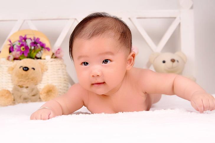 nadó, mare-fill, nens, només els nadons, infantesa, l'interior, Uvas