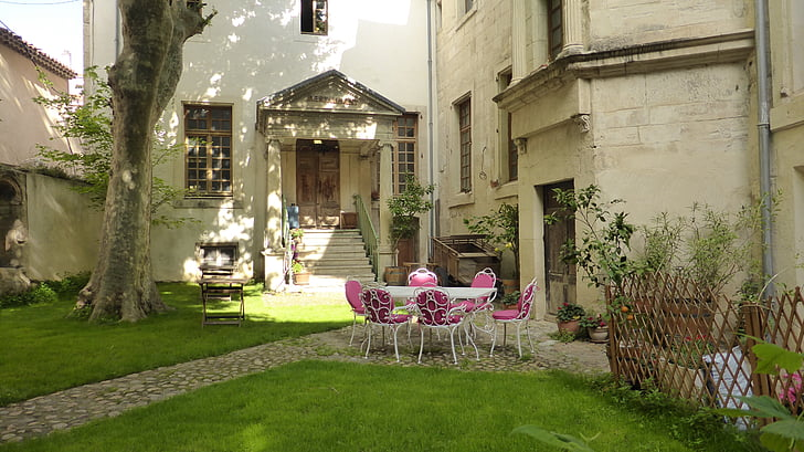 Provença, llum, color, jardí, França