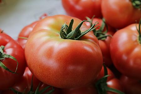 tomaten, groenten, voedsel, tomaat, plantaardige, versheid, rood