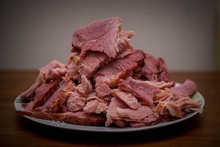 carn, cuit, aliments, àpat, sopar, carn de boví, deliciós