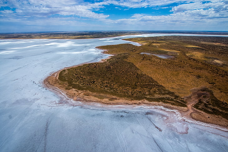 frozen lake, aerial view, frozen, aerial, landscape, nature, scenic