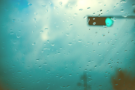 tabitha, raindrops, non, the traffic light, window, water, glass