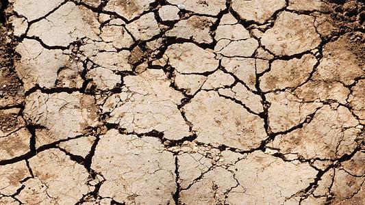 textura de terra, terra, textura, cruixit, sec, desert de, terra