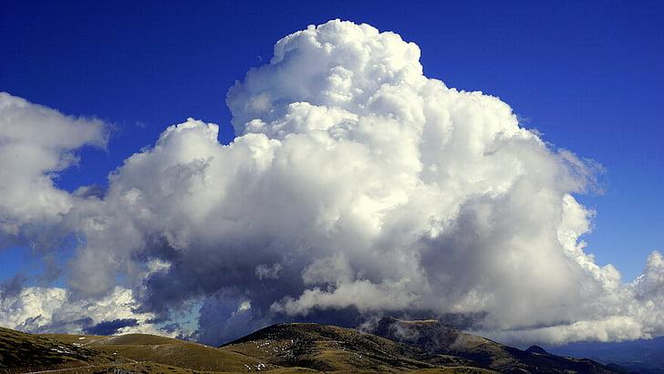 cloud, cumulonimbus, sky, time, atmosphere, climate