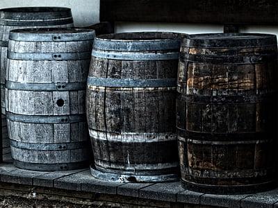 baril, barillets, en bois, patrimoine, tonneau, vin, alcool