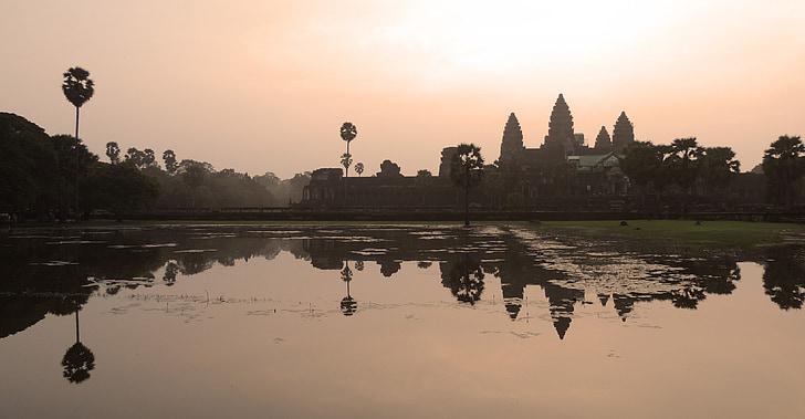 Ангкор Ват, Камбоджа, храма