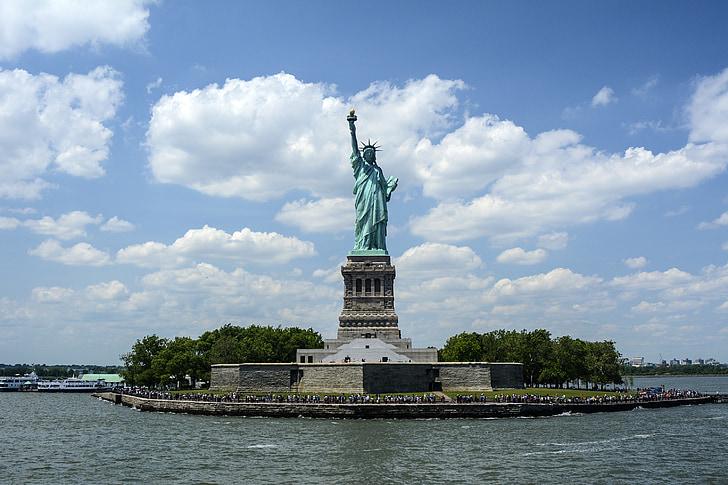 Estàtua de la llibertat, Liberty island, Port de Nova york