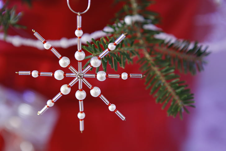 Xmas, Noel, Süsleme, Boncuklu süs, Sezon, ağaç, boncuk