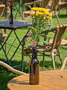 květiny, Váza Flower, váza, alternativní, Deco, Zátiší, dekorace