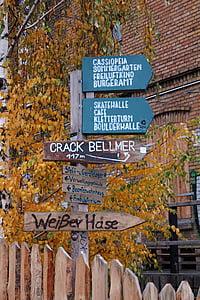 Berlín, directori, direccions, Direcció, Escut, Nota, Direcció del camí