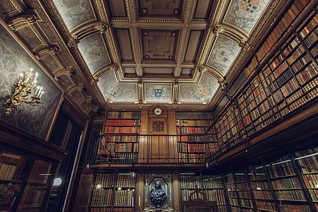 books, library, royal