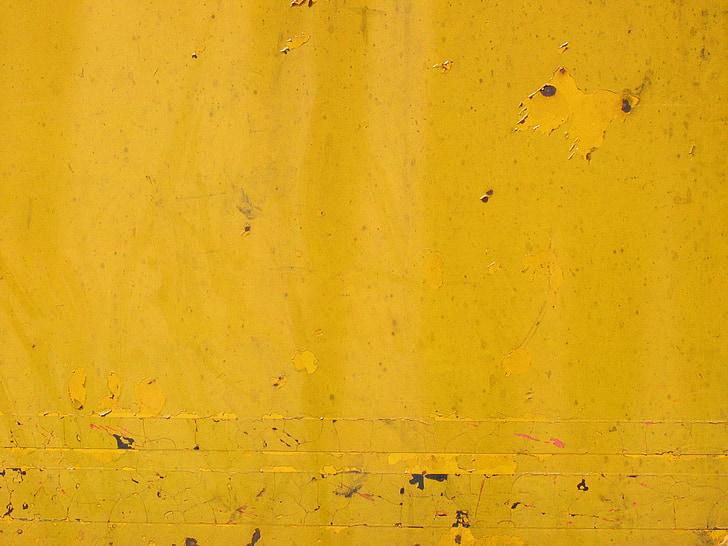 òxid, groc, fons