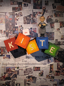 Augsburg, Leļļu teātris, Blues puppenkiste, mirst no gaismas