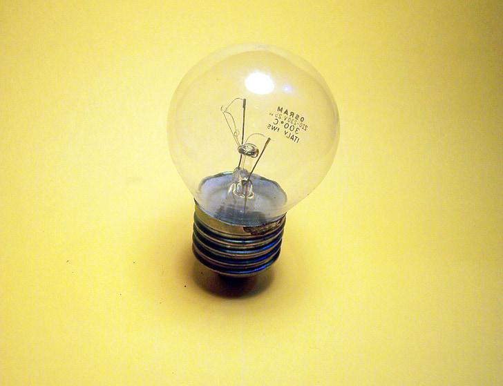 valgus, lamp, kollane