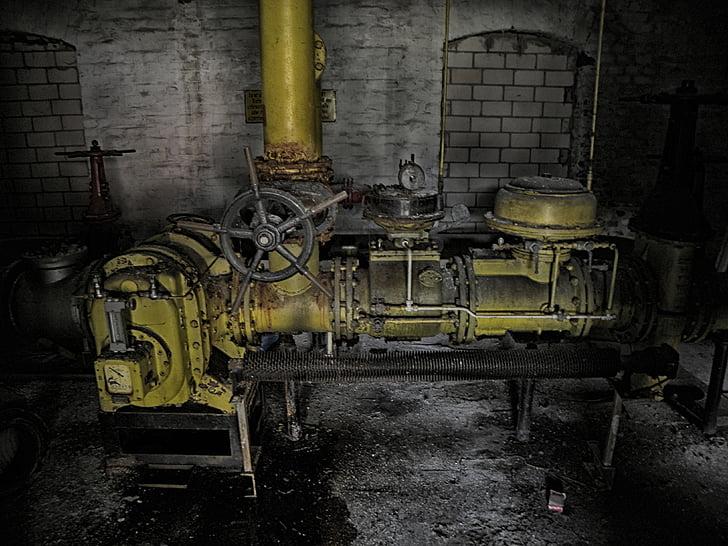 Mesin, industri, pabrik, Cologne, Deutz ag, pabrik DEUTZ, KHD