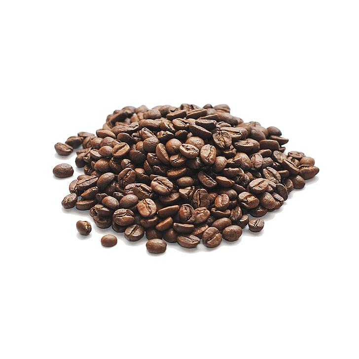cafè, grans, aràbica, fregits, grans de cafè, cafè torrat, gra