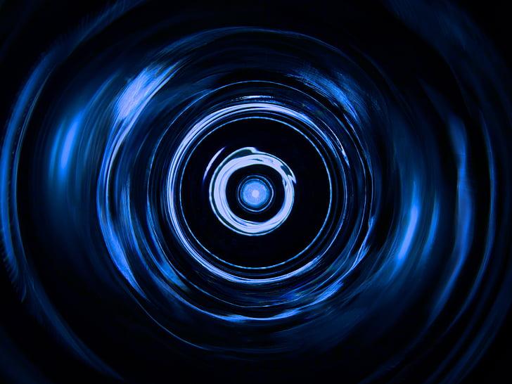 estructura lleugera, Reflexions de vidre, color, blau, patró, patrons de llum