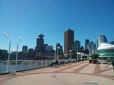 Vancouver, Canadà, ciutat, lloc de Canadà, horitzó, passeig marítim