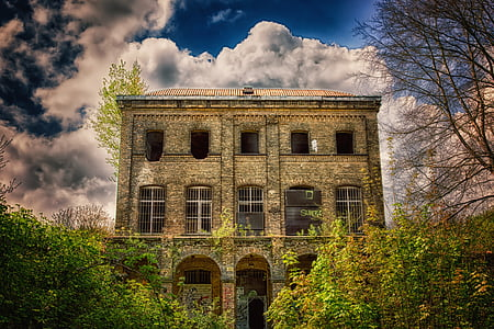 home, lost places, villa, facade, architecture, historically, transience