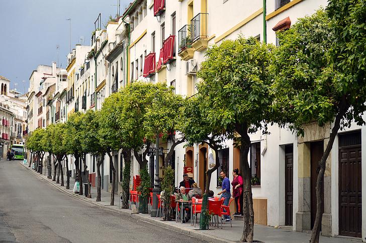 Španija, Cordoba, počasi, sproščeno, način življenja, Andaluzija, Evropi