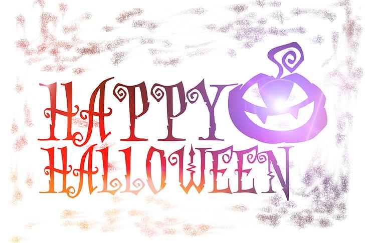 halloween, 31oktober, decorative, autumn, fash, fun, atmosphere