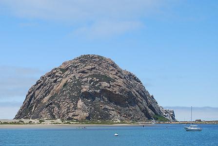 Morro badia, natura, oceà, paisatge, Costa, Califòrnia, Mar