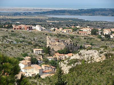 poble, França, Corberes, pobles medievals, sostres