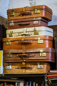luggage, packaging, go away, travel, holiday, farewell, container