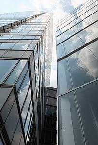 arhitektuur, hoone, fassaad, nurk, Moodne arhitektuur, kodu, Tower