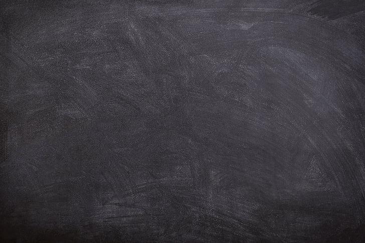 črna, Odbor, kreda sledi, šola, učenje, izobraževanje, zamazan