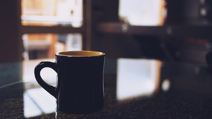 café, taza, taza, bebidas, Espresso, cafeína, café