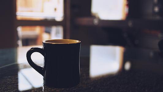 cafè, Copa, tassa, begudes, cafè exprés, cafeïna, cafeteria
