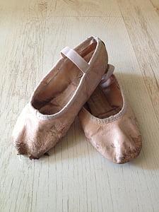ballet shoes, pink, ballet, dance, girl, ballerina, style