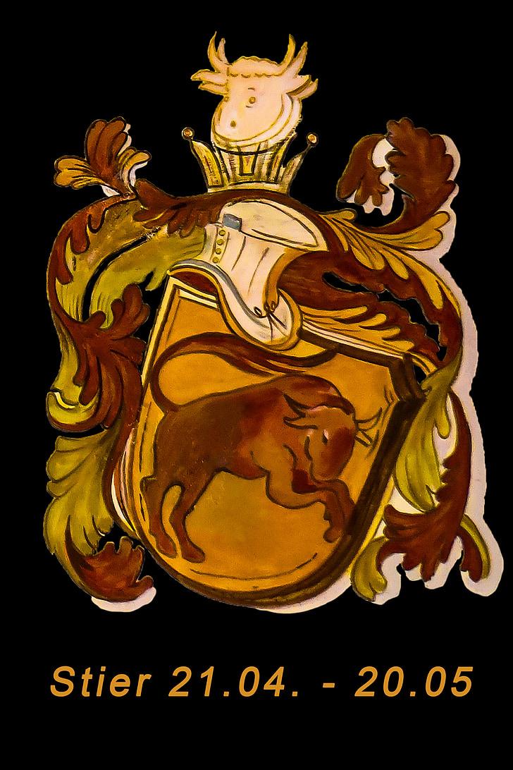 sterrenbeeld, Stier, Horoscoop, tekens van de dierenriem, symbool, New age, pictogramafbeeldingen