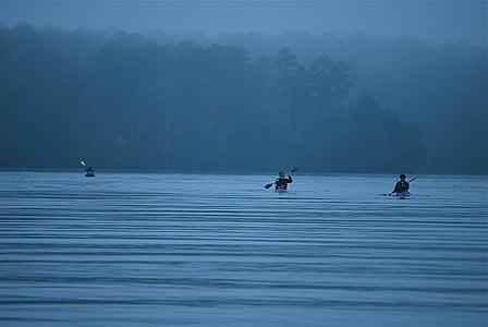 aventure, kayak, se détendre, vacances, en plein air, sport, kayak