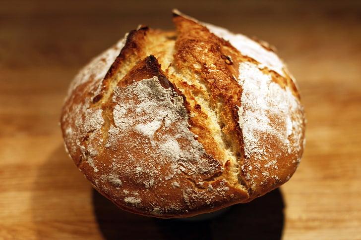 chleb, domowy chleb, domowej roboty, Mąka, kuchnia, orkisz