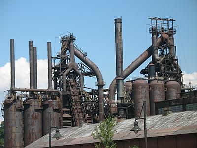 tehase, Allentown, terasest, toru, tootmine, terasetehas, mahajäetud