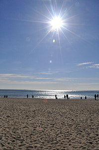mar, Playa de Haeundae, arena, arena, playa que se baña, Busan, República de Corea