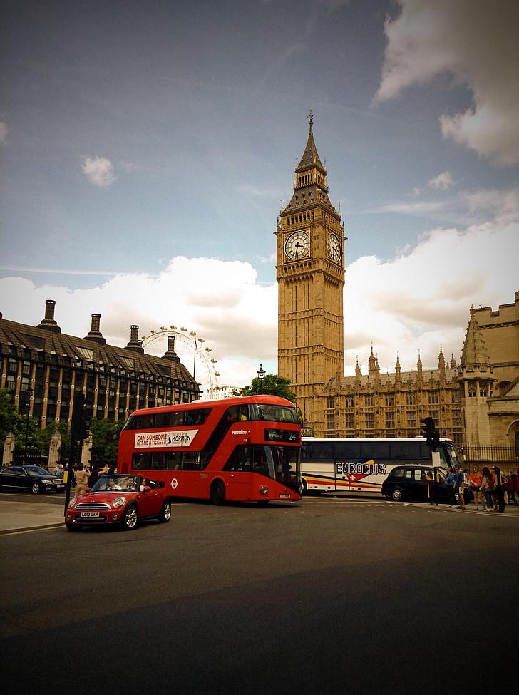 Britannian, Lontoo, Iso-Britannia, Englanti, Lontoo, Tower, Big ben
