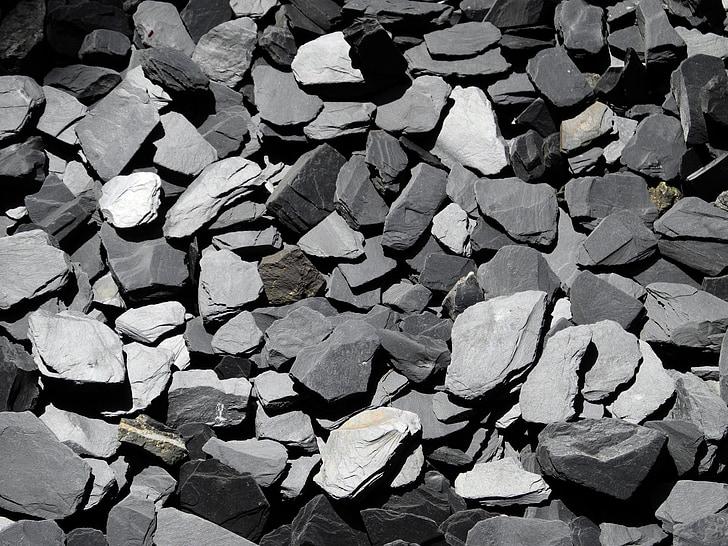 pedra natural, dividir, granit, natura, tomba