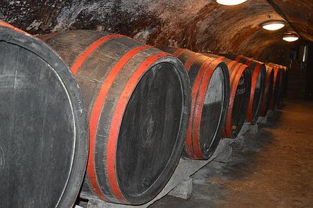 vin, tonneaux de vin, cave à vin, cave à vin, vin-tonneau, Cave, alcool