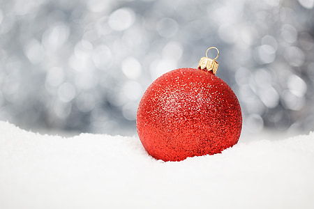 Natal, salju, dekorasi, liburan, simbol, musim dingin, Xmas