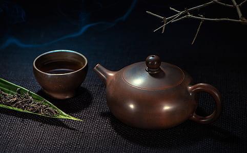 紅茶, ティーポット, 静物写真, お茶・ ドリンクのホット, 食べ物や飲み物, ない人, 文化