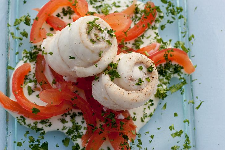 риба, червен, храна, здрави, зеленчуци, съставка, свежест
